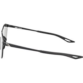 100% Legere UltraCarbon Round Lunettes, matte black/smoke